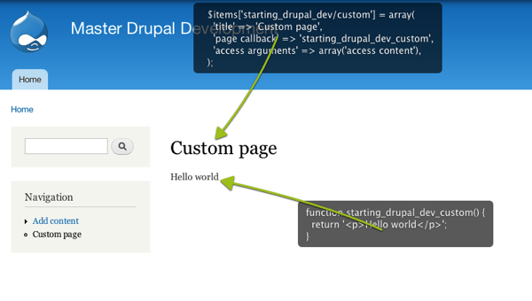 Learn how to programatically create a Drupal page | BeFused
